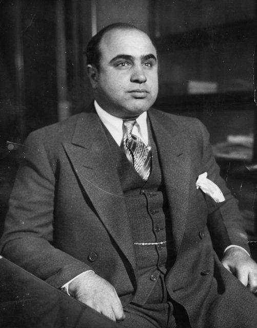 Al Capone en 1930