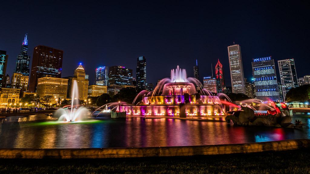 Buckingham Fountain, una atracción en tu estancia de tres dias en chicago