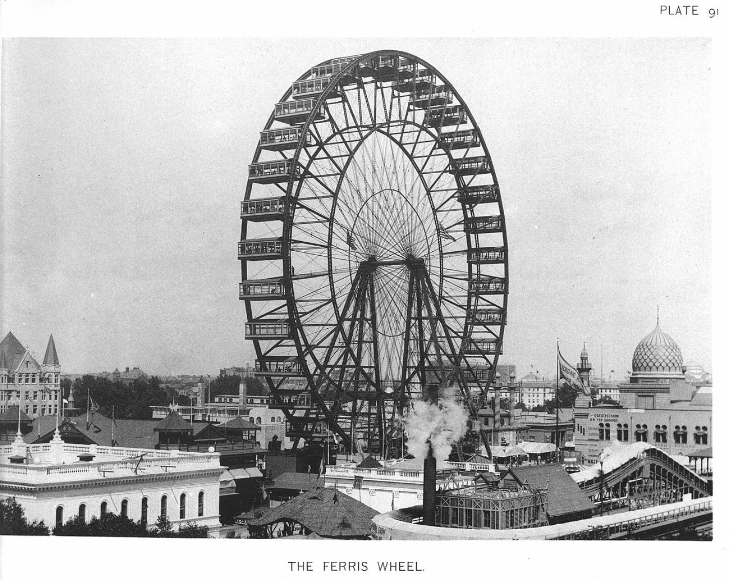 Ferris Wheel inventos chicago