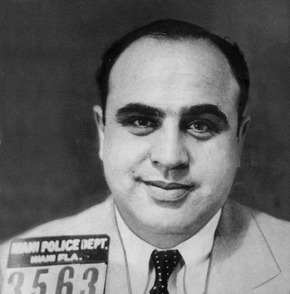 Mugshot de Capone