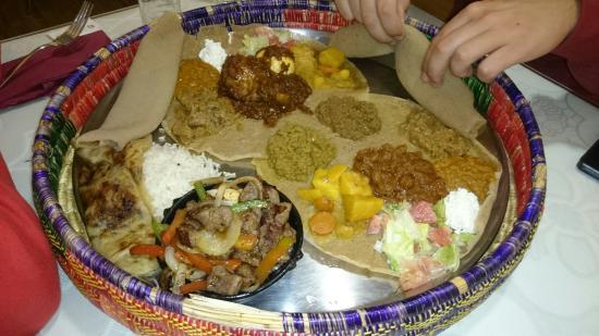 comida etiope Chicago food
