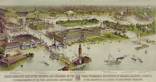 Ilustracion de la feria mundial Colombina de 1893