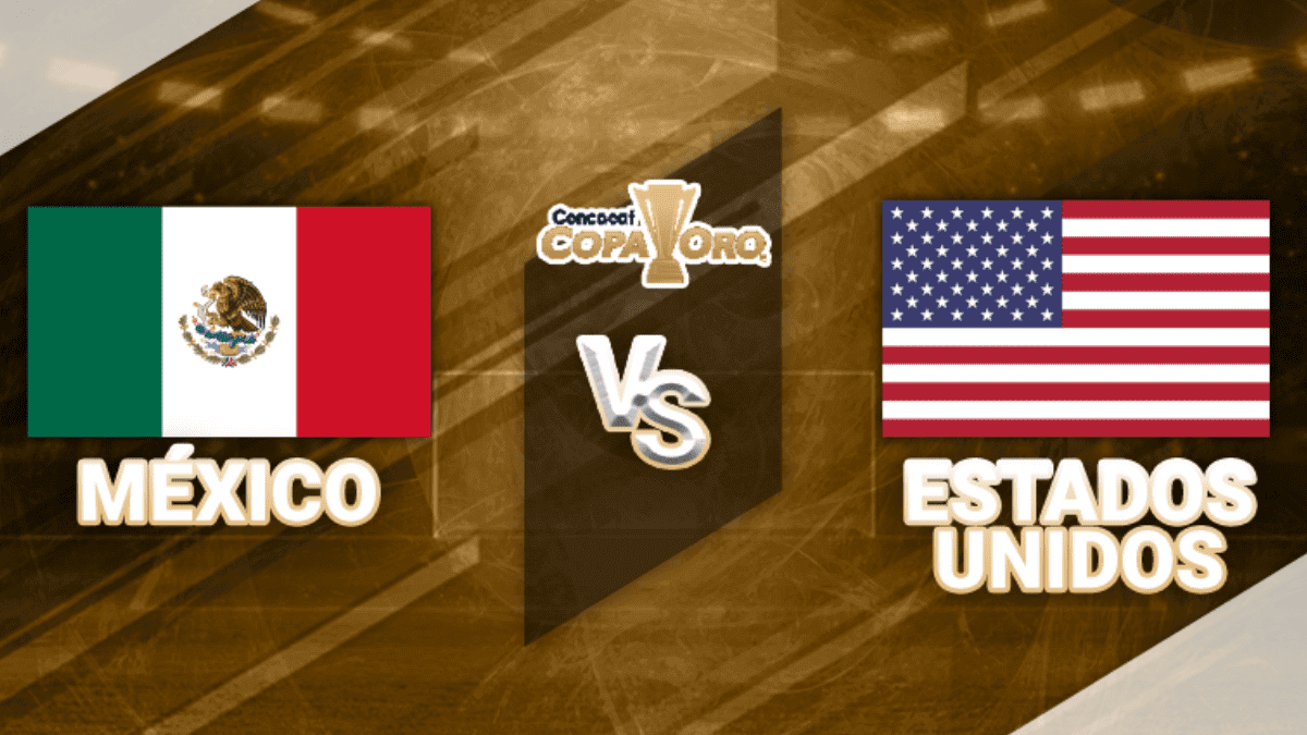 México vs Estados Unidos en la final Copa Oro 2019