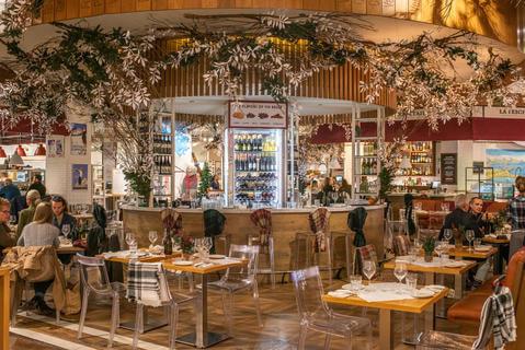 Elegante y delicioso restaurante EATALY FOOD CHICAGO
