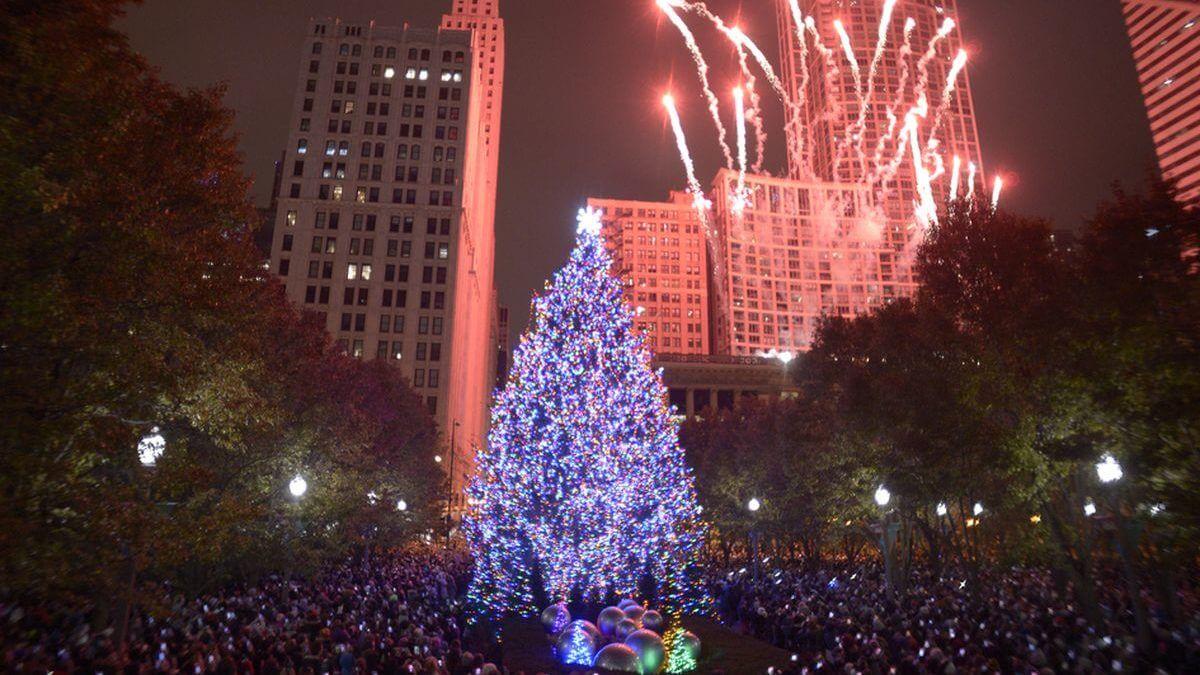 El encendido del árbol de Navidad de Chicago es hoy en Millennium Park