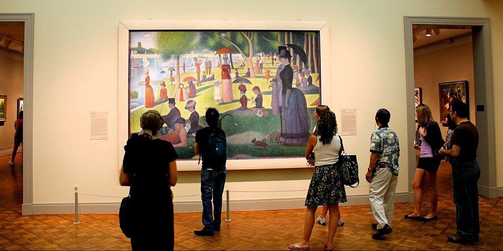 La mayor colección de arte del impresionismo la encuentras en el Instituto de Arte de Chicago.