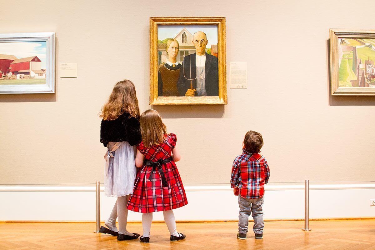 Todos aprenden en el Instituto de Arte de Chicago