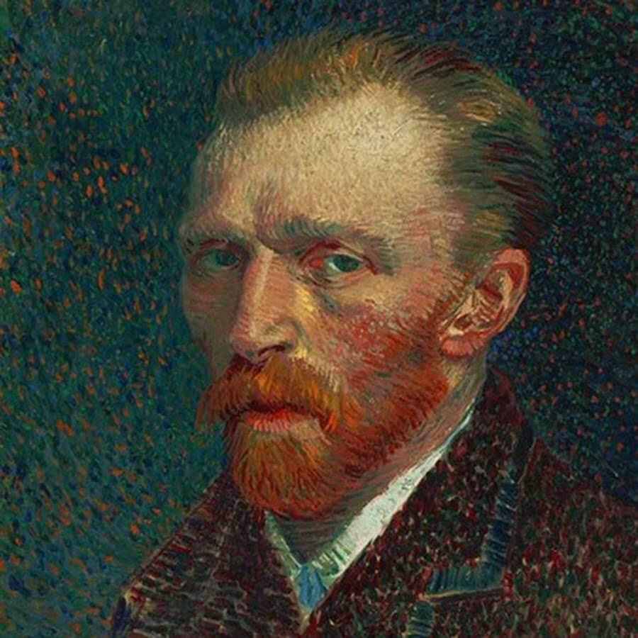 Autorretrato de Vincent Van Gogh en el Instituto de Arte de Chicago