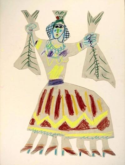 La chumbera, Pablo Picasso