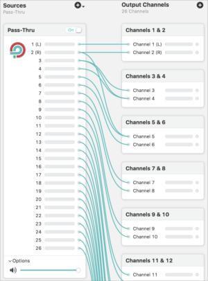 Estoy seguro de que algunas personas necesitan tantos canales, y si es así, Loopback está ahí para ellos.