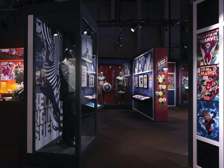 La exhibición interactiva de cómics de Marvel más grande del mundo llegará a Chicago en marzo