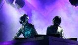 Daft Punk en Lollapalooza Chicago 2007 con la piramide del Alive World Tour